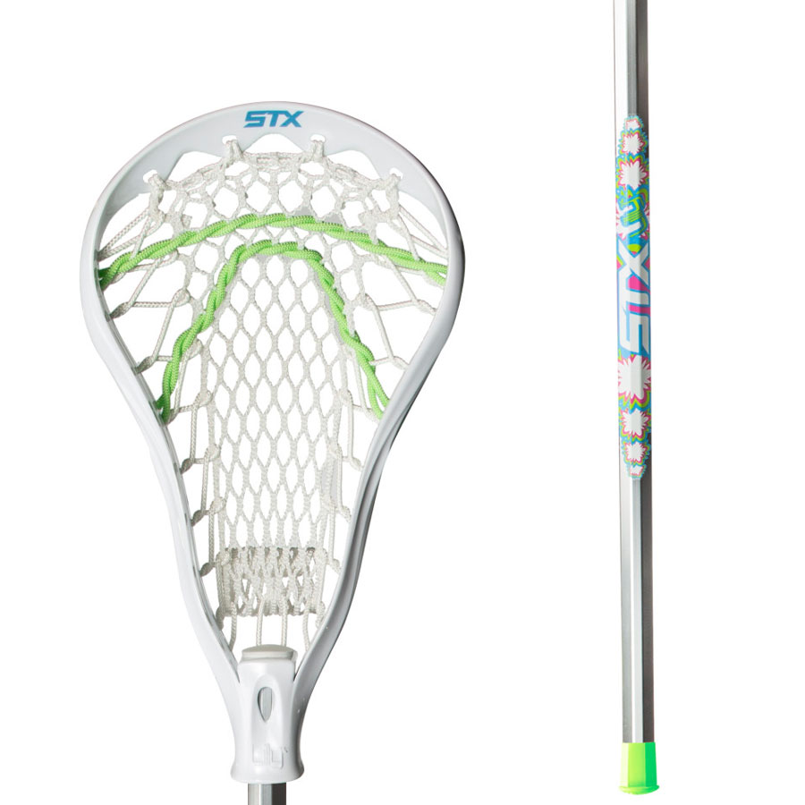 Stx Lilly Beginner Lacrosse Stick With Crux Mesh Shop