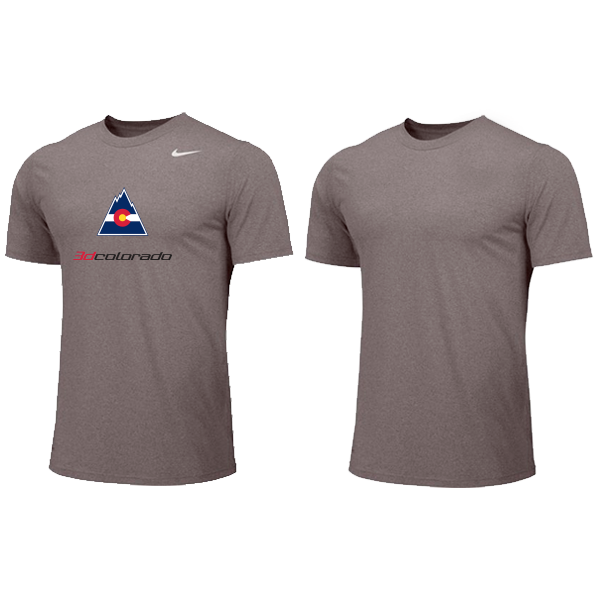 Nike YOUTH Dri-fit Shirt - 3d Colorado