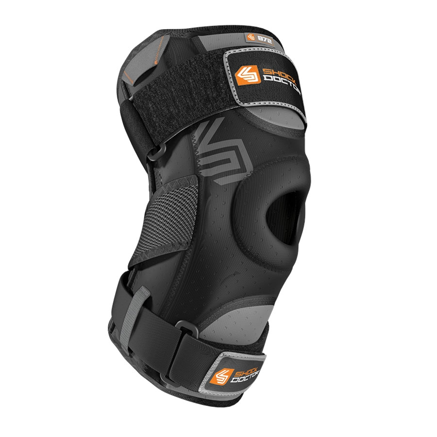 Shock Doctor Knee Support w. Dual Hinges black Small