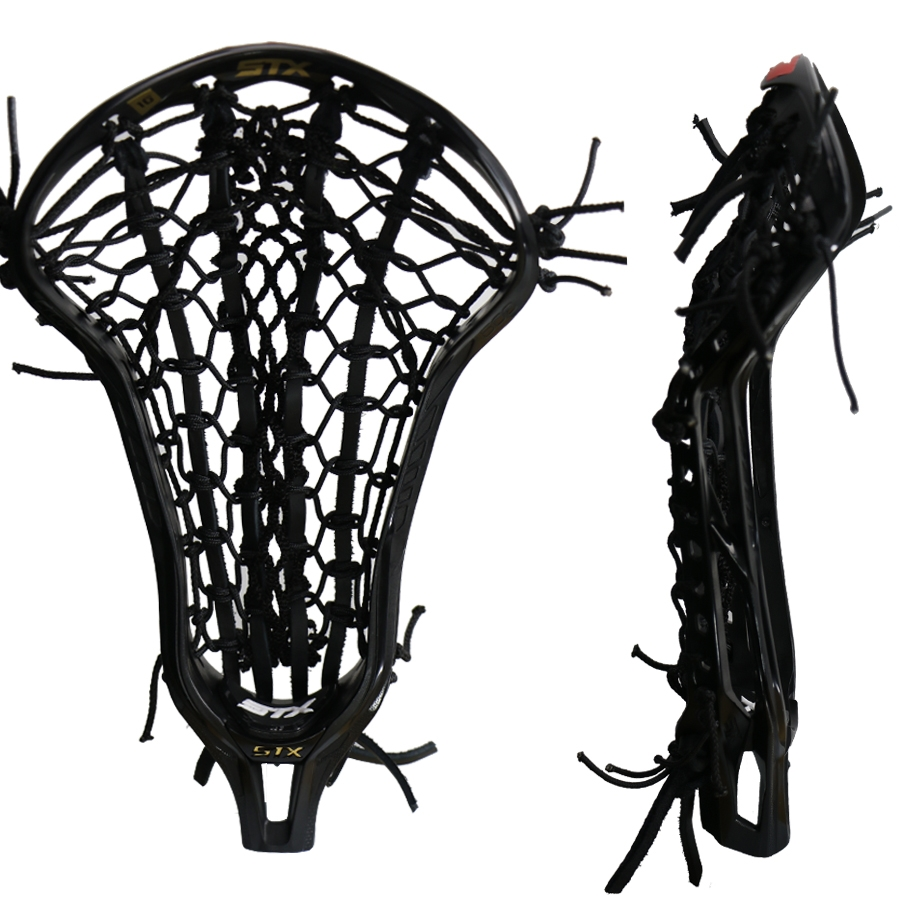 Stx Crux 600 Black with Black Venom Mesh Pocket
